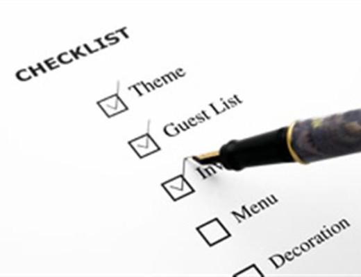 Lánybúcsú szervezés ellenőrző lista