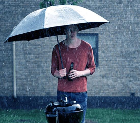 Ne hagyd, hogy az eső elrontsa a parti hangulatát
