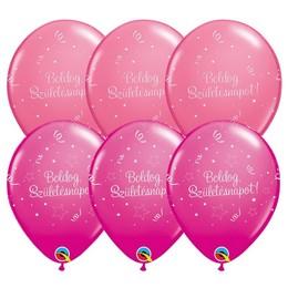 Boldog Születésnapot Shining III Lányos Színekben Gumi Lufi