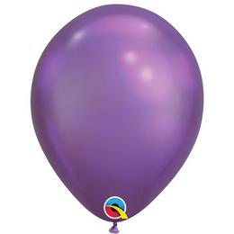 11 inch-es Chrome Purple - Lila Kerek Lufi (100 db/csomag)