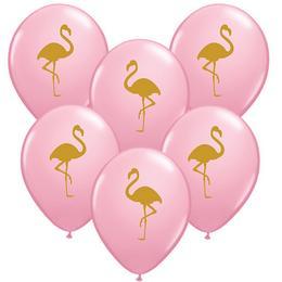 11 inch-es Flamingo Pink Lufi (25 db/csomag)