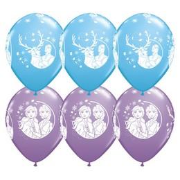 11 inch-es Jégvarázs 2 - Disney Frozen 2 Lufi (6 db/csomag)