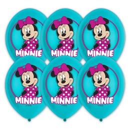 Minnie Egér - Minnie Mouse Színes Lufi (6 db/csomag)