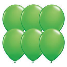 5 inch-es Spring Green (Fashion) Kerek Lufi (100 db/csomag)
