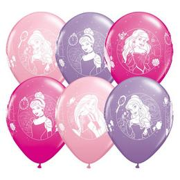 11 inch-es Disney Princess - Hercegnők Asst. Lufi (25 db/csomag)