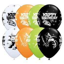 Stars Wars - Születésnapi Színes Léggömb