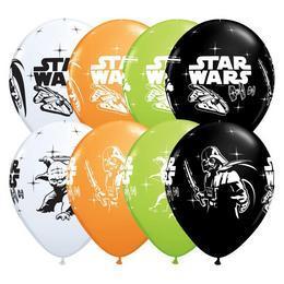 11 inch-es Star Wars - Darth Vader & Yoda Spec. Asst. Lufi (25 db/csomag)