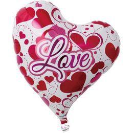 Ibrex 14 inch-es Love Hearts Sweet Szerelmes Szív Héliumos Fólia Lufi