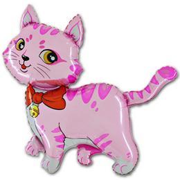 14 inch-es Rose Cat - Pink Cica Fólia Lufi