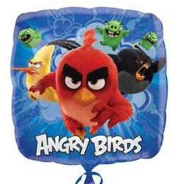 17 inch-es Angry Birds Movie Fólia Lufi