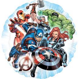 Bosszúállók - Avengers Héliumos Fólia Lufi, 43 cm