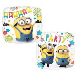 Minion - Despicable Me Party Héliumos Fólia Lufi, 43 cm
