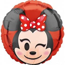 17 inch-es Minnie Egér - Minnie Mouse Emoticon Fólia Lufi
