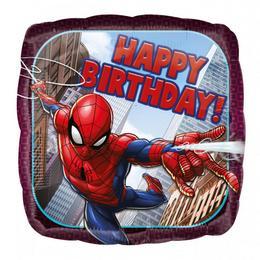 Pókember - Spiderman Szülinapi Héliumos Fólia Lufi, 43 cm