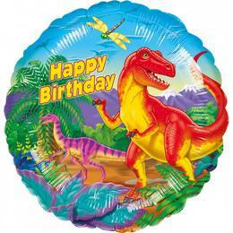 17 inch-es Prehistoric - Dinoszaurusz Birthday Szülinapi Fólia Lufi
