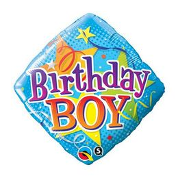 Birthday Boy Szülinapi Fólia Lufi