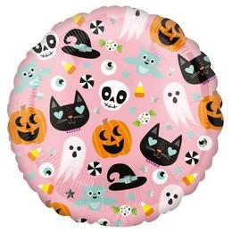 Halloween Figurák - Halloween Icons Fólia Lufi Halloween-ra