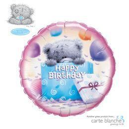 Macis - Tatty Teddy Birthday Present Lufi Születésnapra - 46 cm