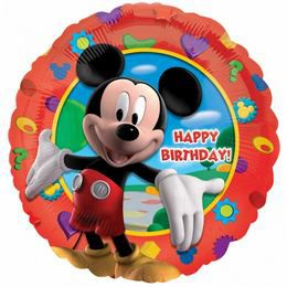18 inch-es Mikiegér - Happy Birthday Mickey's Clubhouse - Fólia Lufi
