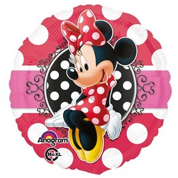 Minnie Egér - Minnie Mouse Héliumos Fólia Lufi