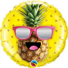 18 inch-es Mr. Cool Pineapple Fólia Lufi