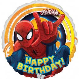 18 inch-es Pókember - Spiderman Ultimate Szülinapi Fólia Lufi