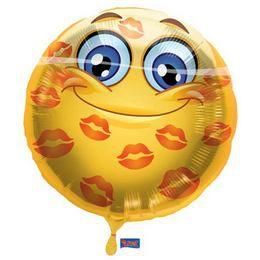 18 inch-es Szerelmes Smile Héliumos Fólia Lufi
