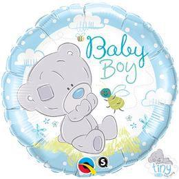 18 inch-es Tiny Tatty Teddy Baby Boy Héliumos Fólia Lufi
