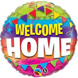 18 inch-es Welcome Home Pennants Héliumos Fólia Lufi