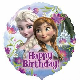 18 inch-es Jégvarázs - Disney Frozen - Szülinapi Héliumos Lufi