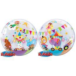 22 inch-es Circus Parade Héliumos Bubbles Lufi