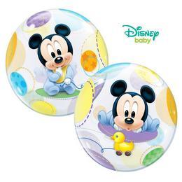 Baby Mickey Bubbles Lufi Babaszületésre - 56 cm