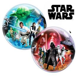 22 inch-es Disney Star Wars Bubbles Léggömb