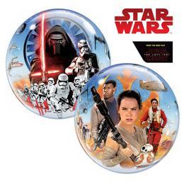 22 inch-es Disney Star Wars The Force Awakens Héliumos Bubbles Lufi