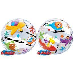 22 inch-es Flying Circus Héliumos Bubbles Lufi