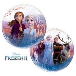 Jégvarázs 2 - Frozen 2 Héliumos Buborék Lufi, 61 cm