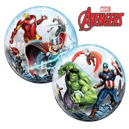 22 inch-es Marvel's Avengers Héliumos Bubbles Lufi