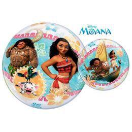 22 inch-es Vaiana (Moana) Disney Héliumos Bubble Lufi