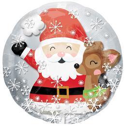 24 inch-es Mikulás és Rénszarvas Lufiban a Lufi Karácsonyra