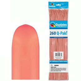 260Q Coral (Fashion) Q-Pak Party Modellező Lufi (50 db/csomag)