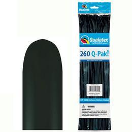 Onix Fekete Q-Pak Party Kukac Lufi - Normál, 50 db