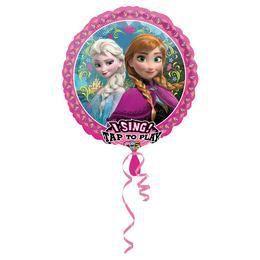 28 inch-es Frozen - Jégvarázs Éneklő Szülinapi Fólia Lufi