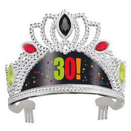 30-as Birthday Cheer Szülinapi Parti Tiara