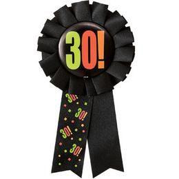 30-as Birthday Cheer Szülinapi Parti Kitűző