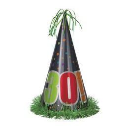 30-as Birthday Cheer Születésnapi Parti Nagy Papír Csákó