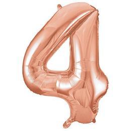 34 inch-es 4 Rózsaarany - Rose Gold Számos Super Shape Fólia Lufi