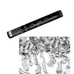 40 cm-es, Ezüst Szalagokat Kilövő Konfetti Ágyú