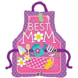 41 inch-es Best Mom Anyák Napi Héliumos Fólia Lufi
