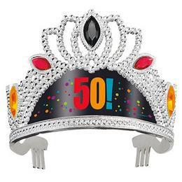 50-es Birthday Cheer Szülinapi Parti Tiara