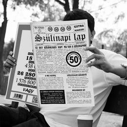 50-es Számos Születésnapi Vicces Újság